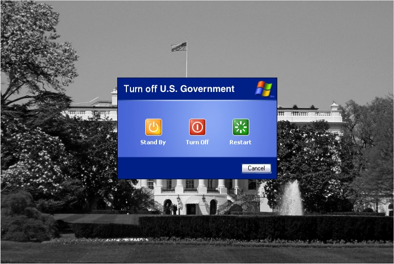 UPDATE: THE U.S. GOVERNMENT HAS JUST SHUT DOWN)