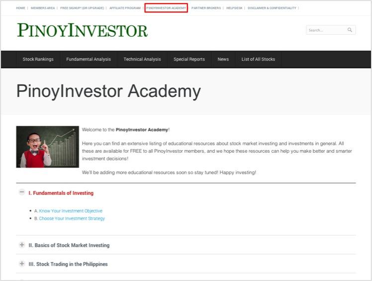 PinoyInvestor Academy 2