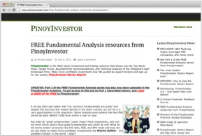 PinoyInvestor - News