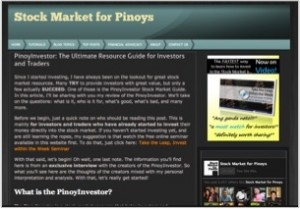 PinoyInvestor - Stock Market for Pinoys
