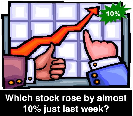 rise 10 percent